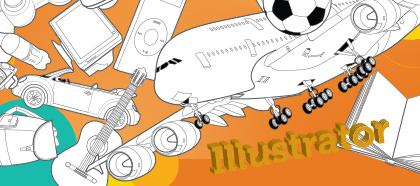 Curso Online Illustrator Objetos e Desenho 3D